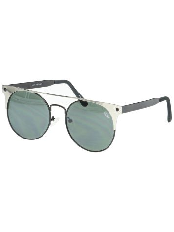 Quay Australia The In Crowd Black/Silver Sonnenbrille