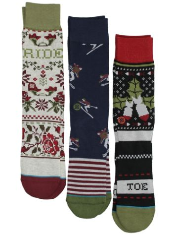 Stance Holiday 3 Pack Socks