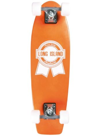 Long Island Longboards Pacific Orange Cruiser Complete