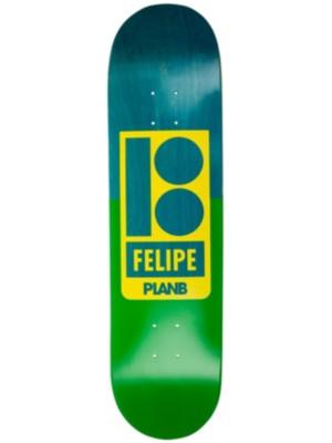 """Plan B Felipe Sections 8.125"""" Skateboard Deck uni Gr. Uni"""