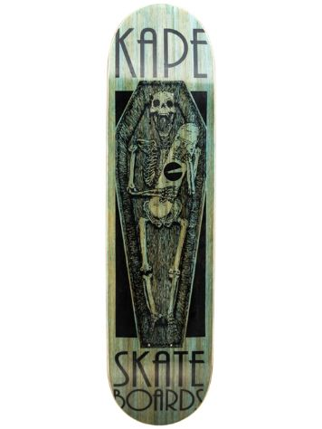 "Kape Skateboards Coffin 7.75"" Deck"