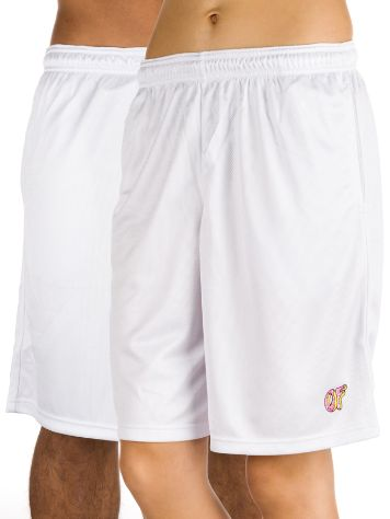 Odd Future OF Logo Mesh Shorts White