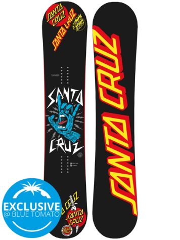 Santa Cruz Rock Hand Competition 157 2018 Snowboard