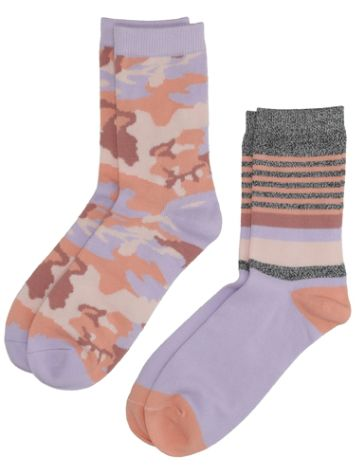 Ninth Hall Lavender Anti-Socialite Camo Socks