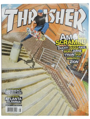 Thrasher Thrasher Issue 2017 August
