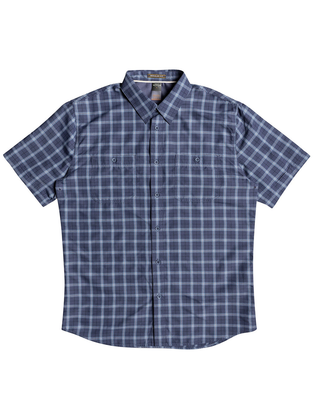 Buy quiksilver wake plaid 2 shirt online at blue for Buy plaid shirts online