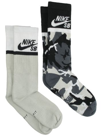 Nike Energy Crew Skateboarding 2 Pair Socken