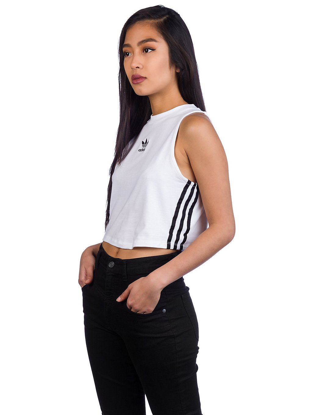 Image of adidas Originals Crop Tank Top