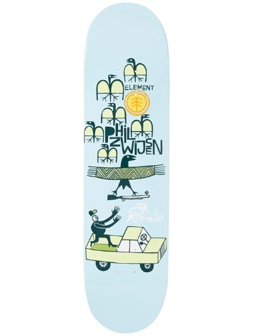 "Element Elv Fta Phil Z 8.2"" Skateboard Deck"
