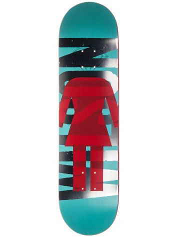 "Girl X Diamond Wilson Supply Co. 8.125"" Deck"