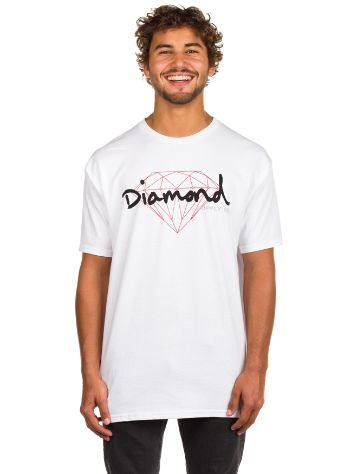 Diamond Brilliant Script T-Shirt