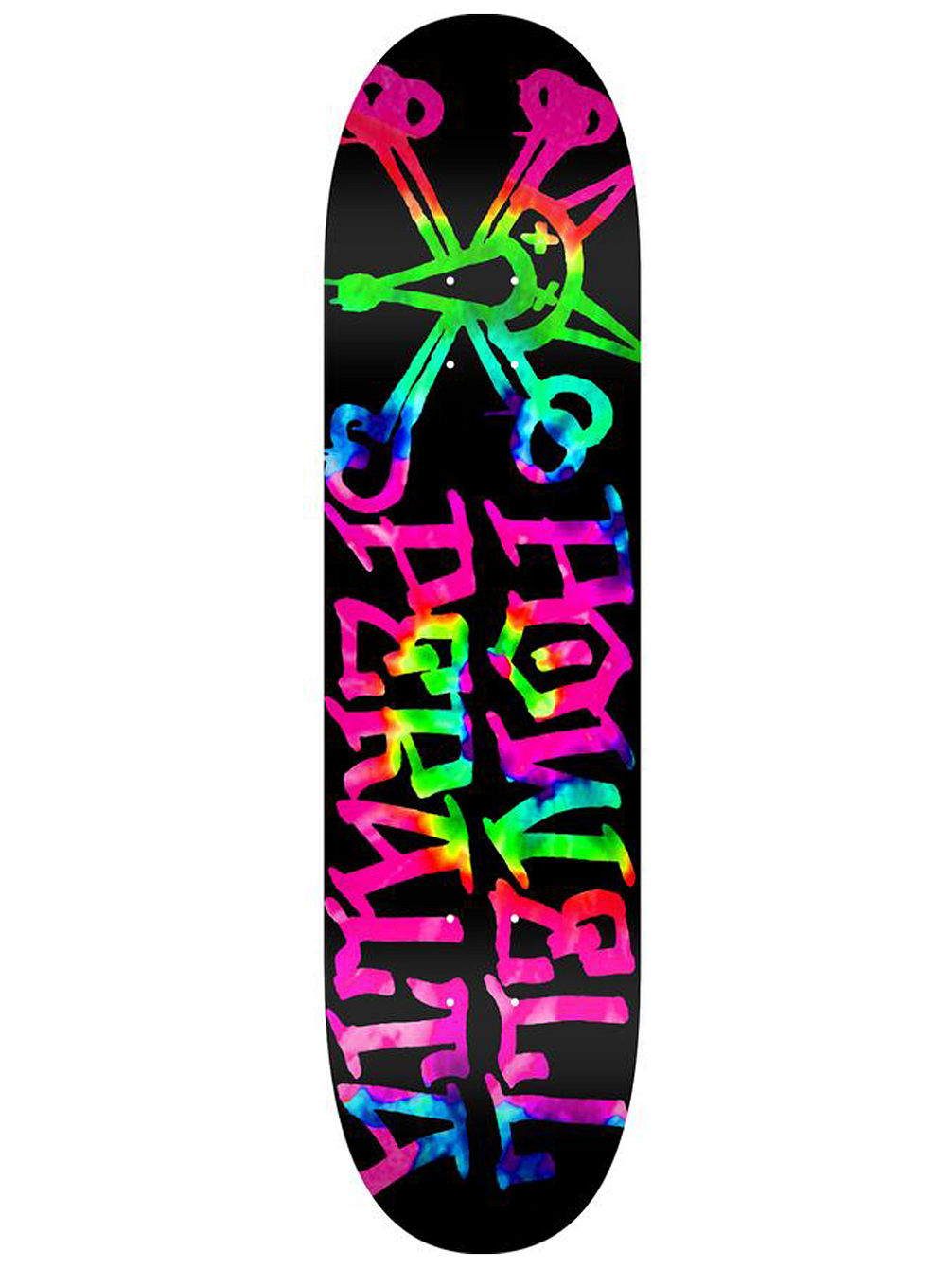 "Vato Rat Tie-Dye Birch 8"" Skateboard Dec"