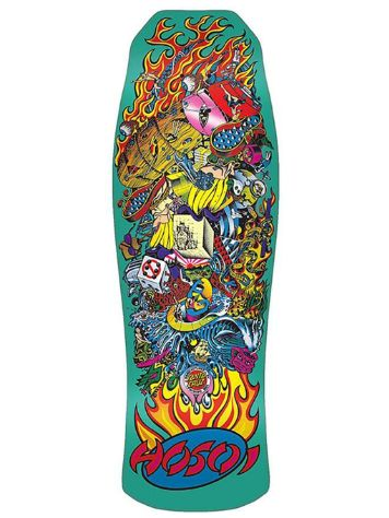 "Santa Cruz Hosoi Collage Candy Metallic Mint 10"" Sk"