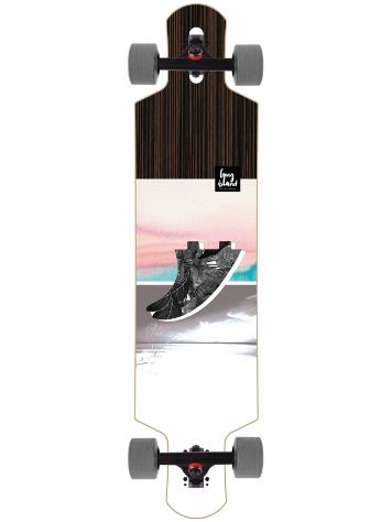 "Long Island Longboards Fin 39"" Drop Li Compleet"