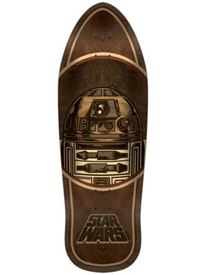 "Santa Cruz Star Wars R2-D2 Inlay 10.35"" Skate Deck brown Gr. Uni"