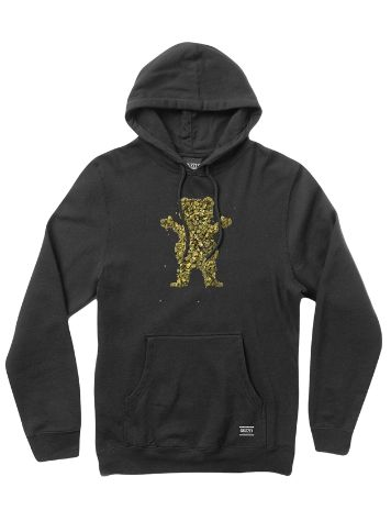 Grizzly Roll Up Bear Hoodie
